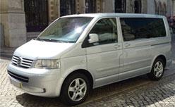 VW minibus Lisbon