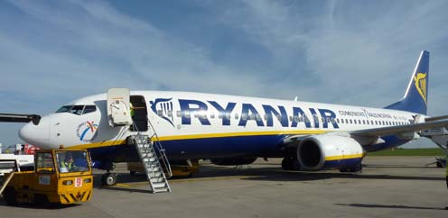 Ryanair Lisbon Airport new routes