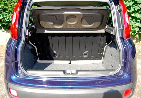 Fiat Panda trunk space