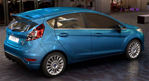Ford Fiesta Rental Car